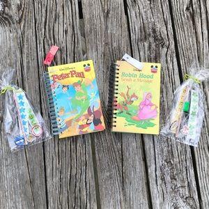 Peter Pan & Robin Hood Repurposed Kid Book Journal
